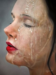 hyper realism. not sure the artist or medium.