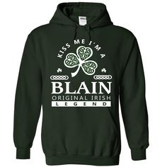 (Tshirt Order) BLAIN st patrick day [Top Tshirt Facebook] Hoodies Tees Shirts