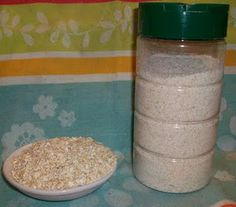 DIY ~ Copycat Aveeno Oatmeal Bath ~ unbelievable what Aveeno charges for this when you can make the exact same oatmeal bath for pennies!!!!