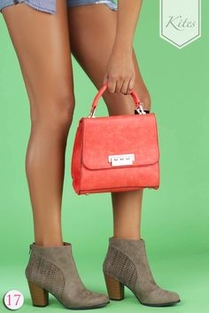 #booties #coral #botines #bolso #kitescr