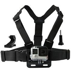 アクションカメラ胸の豊かなストラップ用のgopro hero 5 4 sjcam sj4000胸の豊かな行くプロsjcam xiaomi yiスポーツカメラ10