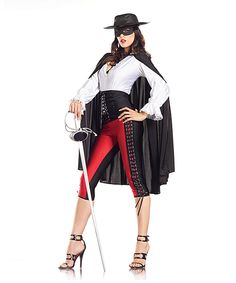 "Look at this Black & White ""bandit"" costume, $69.99"