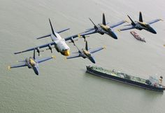 Blue Angels and Fat Albert