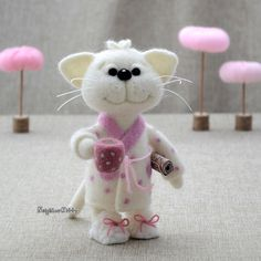 Welcome to NeighborKitty shop, the bright and colorful world of needle felted…