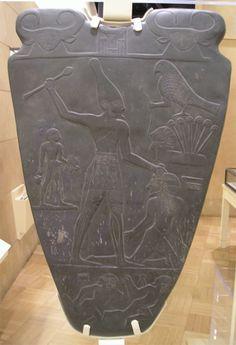 Palette de Narmer - Musée égyptien du Caire
