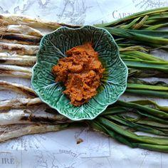 Calcotada feast and recipe for Romesco sauce