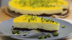 Backen - ohne backen! Dieser Mango-Cheessecake gelingt immer und schmeckt sommerlich-fruchtig.