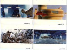 Original Star Wars 1977 Ralph McQuarrie Concept Art Production Photographs 36 EA…