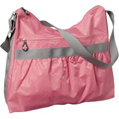 We love this crossbody gym bag from Old Navy because it's cute and affordable!