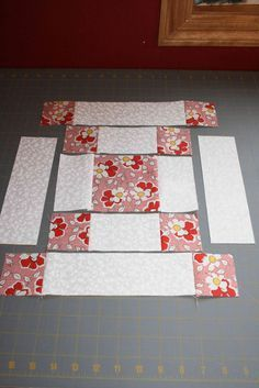 very easy block tutorial for beginning quilters