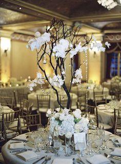 #centerpiece, #manzanita  Photography: Braedon Flynn - braedonphotography.com/ Event Planning: XOXO BRIDE - xoxobride.com Floral Design: Modern Day Design - moderndaydesign.com  Read More: http://stylemepretty.com/2013/06/28/santa-barbara-wedding-from-xoxo-bride-braedon-flynn-photography/