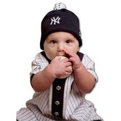 Yankees Infant Beanie Cap