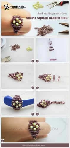 Today I am going to show you the seed beading instructions; unlike many complicated seed beading tutorial, this one is easy-to-learn and readable without tedious explanations.