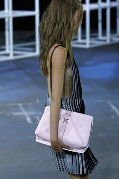 Alexander Wang clutch from the Spring 2014 Collection | StyleCaster