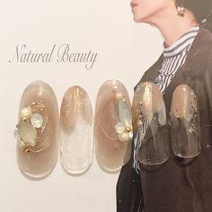 New Year's Nails, Love Nails, Fun Nails, Asian Nails, Korean Nails, New Years Nail Art, Japanese Nail Art, Minimalist Nails, Daily Nail