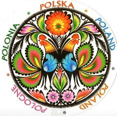 Polish folk art, would make a great tattoo to show off my polish heritage ;)