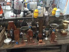 Benches to old trophies To boat parts and floats