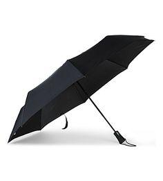 Fulton Jumbo Open And Close Folding Umbrella In Black Large Umbrella, Folding Umbrella, Extreme Weather, Fulton, Umbrellas, Weather Conditions, Black, Beauty, Black People