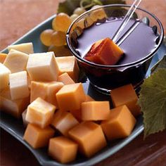 Wine Fondue With Cheese from Land O'Lakes
