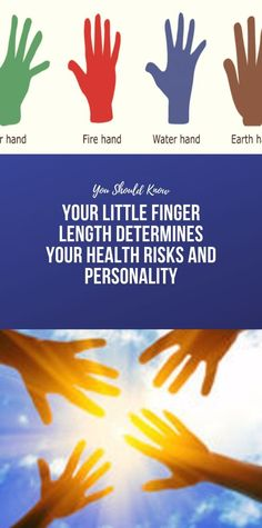 Your Little Finger Length Determines Your Health Risks and Personality Clear Skin Determines Finger Health Length Personality Risks Health And Fitness Apps, Wellness Fitness, Health And Nutrition, Health And Wellness, Health Facts, Health Yoga, Beauty Tips For Teens, Beauty Tips For Skin, Health And Beauty Tips
