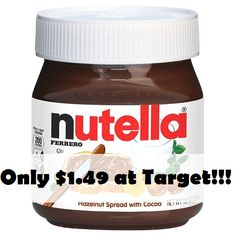 Great Deal on Nutella, Just $1.49 or Less!!! | KouponingWithKatie