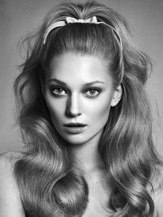 Années 60s, coiffure bombée