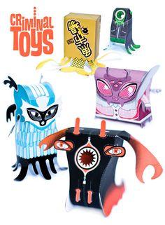 O Paper Toy de Carlo Giovani