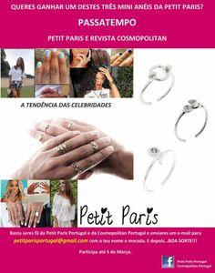Amostras e Passatempos: Cosmopolitan - Passatempo Petit Paris