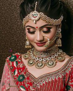 23 Trendy Indian Bridal Nose Ring Make Up Indian Wedding Makeup, Indian Wedding Bride, Bridal Eye Makeup, Indian Bridal Fashion, Bridal Makeup Looks, Indian Bridal Makeup, Indian Wedding Jewelry, Asian Bridal, Bride Makeup