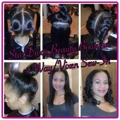 4-Way/Vixen Sew-In! Stylist: Mz. Nikki