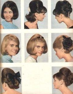 1960s hair dos...