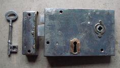 "Victorian 6"" x 4"" Steel Cased Lockable Rim Latch"