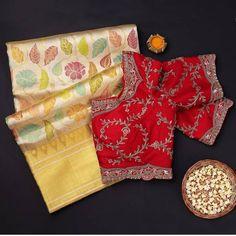 Indian Outfits, Indian Clothes, Traditional Silk Saree, Kanchipuram Saree, Blouse Designs, Silk Sarees, Short Dresses, Sari, Woman Clothing