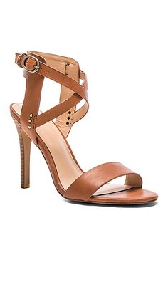 Joe's Jeans 'Tilly' Heel in Caramel Leather