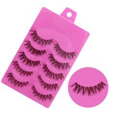 25 Pairs Mink Eyelashes Natural Eye Lashes Extensions Fake Eyelashes Cross Makeup Tools Eye Lashes False Cilios Posticos