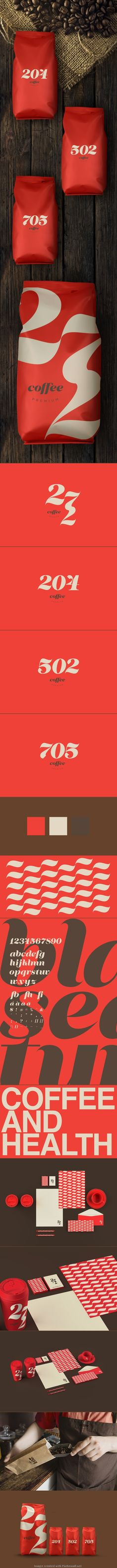 Type & Coffee | Concept of #identity and #packaging design | by Renan Vizzotto, Brazil | Ivan Giorgetti > Behance