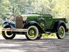 1930 Ford Model A Open Cab Pickup Truck