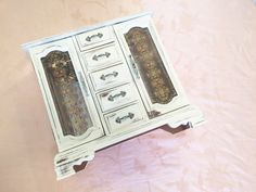 A personal favorite from my Etsy shop https://www.etsy.com/listing/530735390/handmade-jewelry-box-distressed-antiqued