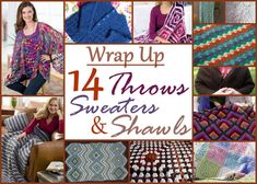 Wrap Up 1024x731 Summer Crochet: Throws, Shawls, and Sweaters