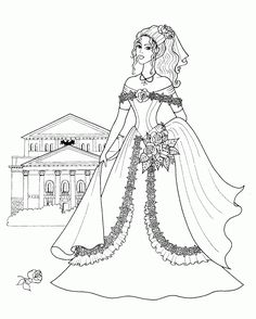 Coloring Pages: Fashionable Girls free printable coloring pages ...