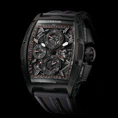 CVSTOS CHALLENGE CHRONO II Preciousness and performance, efficiency and elegance (See more at En/Fr: http://watchmobile7.com/articles/cvstos-challenge-chrono-ii) #watches #cvstos #montres