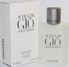 ACQUA DI GIO Cologne by Giorgio Armani 1.7 oz / 50 ml. Men EDT Spray NEW IN BOX #GiorgioArmani