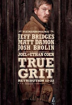High resolution official theatrical movie poster ( of for True Grit Image dimensions: 2000 x Starring Jeff Bridges, Hailee Steinfeld, Matt Damon, Josh Brolin Jeff Bridges, Hd Movies, Movies And Tv Shows, Movie Tv, Movies Online, Hailee Steinfeld, Matt Damon, Bravura Indômita, Los Hermanos