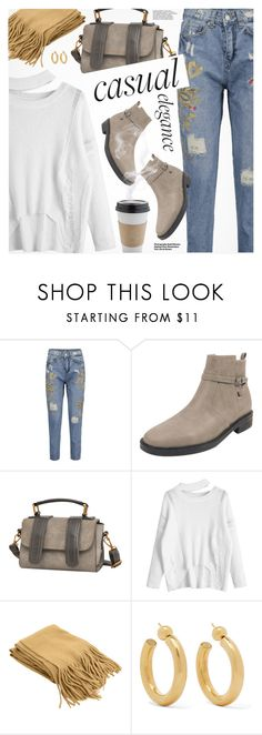 """""""Casual Style"""" by pokadoll ❤ liked on Polyvore featuring OUTRAGE, Hedi Slimane and Sophie Buhai"""