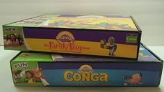 Lot of 2 Cranium Games Conga & The Family Fun Bundle #Cranium