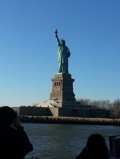 Το άγαλμα της Ελευθερίας Statue Of Liberty, New York City, Travel, Liberty Statue, Viajes, New York, Destinations, Traveling, Trips