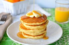 Eggnog Pancakes #pioneerwoman #tastykitchen #breakfast