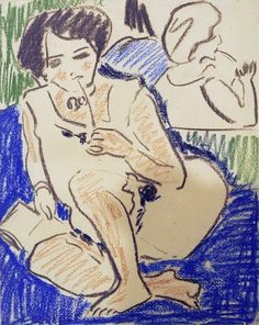 Titolo dell'immagine : Ernst Ludwig Kirchner -