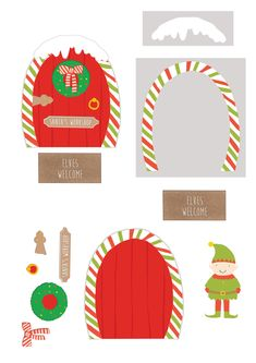 Have fun making some adorable Christmas cards with our free printables from Papercraft Inspirations issue They feature Santa with a collection of very cheeky elves, plus a template for an exploding box card! Free Christmas Printables, Free Printables, Exploding Box Card, Free Printable Flash Cards, Parchment Cards, Christmas Bunting, Memory Games For Kids, Art Deco, Santas Workshop