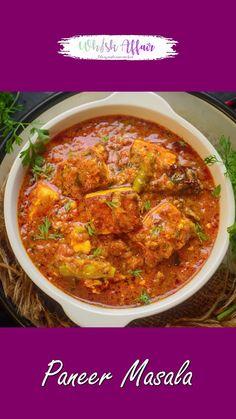 Best Paneer Recipes, Indian Paneer Recipes, Paneer Masala Recipe, Pakora Recipes, Chaat Recipe, Spicy Recipes, Maggi Recipes, Curry Recipes, Indian Food Recipes
